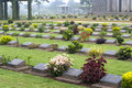Ktauk Kyant War Memorial Cemetery in Myanmar Stock Photo