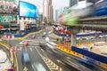 Kuala Lumpur Bukit Bintang intersection Royalty Free Stock Photo
