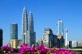 Kuala lumpur city centre Imagem de Stock Royalty Free