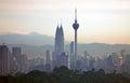 Kuala Lumpur Cityscape - 002 Royalty Free Stock Photo