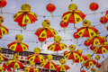 Kuala lumpur malaysia december chinese new year decorat decorations in chinatown Stock Photography