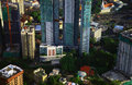 Kuala lumpur view of the Stock Images