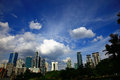 Kuala lumpur view of the day Stock Photo