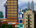 Kuala lumpur view of the day Stock Images