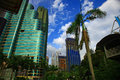 Kuala lumpur view of the day Stock Photography