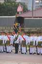 Kuantan aug malaysians participate in national day parade ce celebrating the th anniversary of independence on august Royalty Free Stock Photos