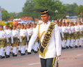 Kuantan aug malaysians participate in national day parade ce celebrating the th anniversary of independence on august Stock Photography