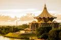 Kuching Sarawak Sunset Esplanade