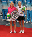 A.Kudryavtseva (RUS)/E. Makarova (RUS), runner up Stock Photos