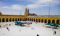 Kufa mosque najaf iraq – may it is one of the oldest mosques in the islamic iraq for shiite community in iraq and the world and Stock Images