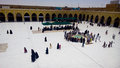 Kufa mosque najaf iraq – may it is one of the oldest mosques in the islamic iraq for shiite community in iraq and the world and Stock Photos