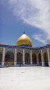 Kufa mosque najaf iraq – may it is one of the oldest mosques in the islamic iraq for shiite community in iraq and the world and Stock Image
