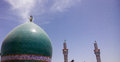 Kufa mosque najaf iraq – may it is one of the oldest mosques in the islamic iraq for shiite community in iraq and the world and Stock Photography