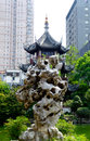Kuixin pavilion and rockery Royalty Free Stock Photo
