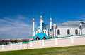 Kul Sharif Mosque in Kazan Kremlin. UNESCO World Heritage Site. Royalty Free Stock Photo