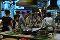 Kulinarnej klasy jamie oliver restauracja londyn Zdjęcia Royalty Free