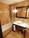Kulka w łazience Obrazy Royalty Free