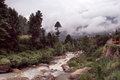 The Kullu Valley near Kullu town, India Royalty Free Stock Photo