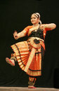 Kumari Sharanya performs Bharatanatyam dance Royalty Free Stock Photo