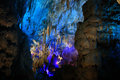 Kumistavi cave prometheus cave is a in georgia near the tshaltubo town near kutaisi city is meters in length Royalty Free Stock Image