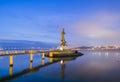 Kun iam macau city skyline Royalty Free Stock Photo