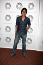 Kunal nayyar big bang arriving at the theory paleyfest event on april at the arclight theaters in los angeles california Royalty Free Stock Photo