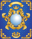 Kunglig Emblem 库存图片
