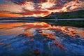 Kunming Lake Sunset, Summer Pa...