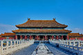 Kunninggong palace of earthly tranquility imperial forbidden city beijing Royalty Free Stock Images