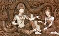 Kunst van steen Royalty-vrije Stock Foto's