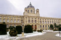 Kunsthistorisches Museum in the winter Royalty Free Stock Photos
