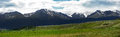 Kurai meadows kreisky kuraiskaya steppe north chu range altai Royalty Free Stock Image
