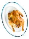 Kurczak pieczeń Obrazy Stock