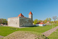 Kuressaare Castle Royalty Free Stock Photos