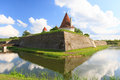 Kuressaare Castle on island Saarema in Estonia Royalty Free Stock Images