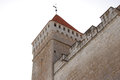 Kuressaare fortress tower in saaremaa island estonia Royalty Free Stock Photography