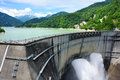 Kurobe dam highest in japan Stock Image