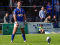 Kurt haggerty rugby league player for barrow raiders and ireland Royalty Free Stock Photo