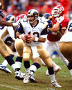 Kurt warner former st louis rams qb image taken from color slide Royalty Free Stock Image