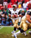 Kurt warner former st louis rams qb image taken from color slide Royalty Free Stock Photography
