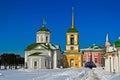 Church in Kuskovo Royalty Free Stock Photo