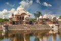 Kusum Sarovar  in Mathura Uttar-Pradesh, India. Royalty Free Stock Photo