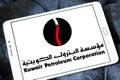 Kuwait petroleum corporation, KPC logo Royalty Free Stock Photo