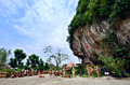 Kwan yin tong in ipoh perak malaysia december of goddess of mercy cave temple is located at gunung rapat the limestone hill here Stock Photography