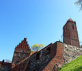 Kwidzyn cathedral medieval castle poland in pomerania region Royalty Free Stock Photography