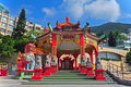 Kwun yam pavilion, hong kong Stock Photography