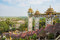Kyaik tan lan the old moulmein pagoda this pagoda is the highest structure in mawlamyine myanmar myanma Royalty Free Stock Images