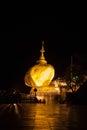 Kyaikhtiyo gold pagoda
