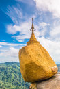 Kyaikhtiyo pagoda in Myanmar