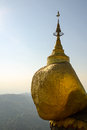 Kyaiktiya pagoda golden rock myanmar Stock Photos